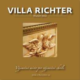 PRAŽSKÝ HRAD - Villa Richter