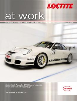 """Jak vyladit Porsche GT3 Cup pro soutěž """"Porsche Mobil 1"""