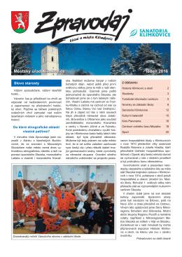 01-2016 - Klimkovice