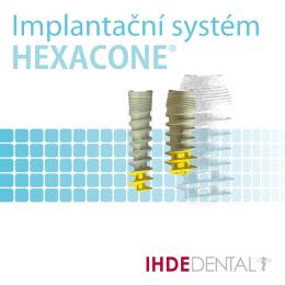 Katalog implantátů HEXACONE+ (CZE)