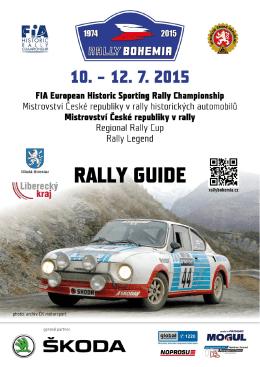 Rally Guide - Rally Bohemia
