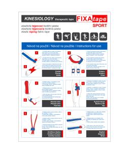 Návod 1 - FIXAtape
