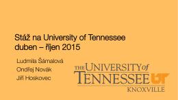 Zkušenosti ze stáže na UTK (2015)
