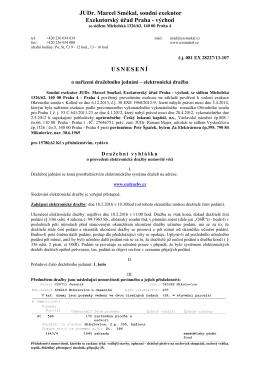 Dražební vyhláška 081 EX 288227/13-107