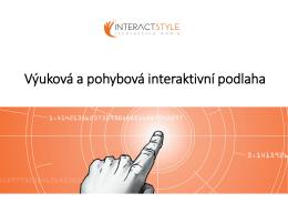 vzdělávací a pohybová terapie interaktivní podlahou