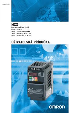 MX2 UŽIVATELSKÁ PŘÍRUČKA