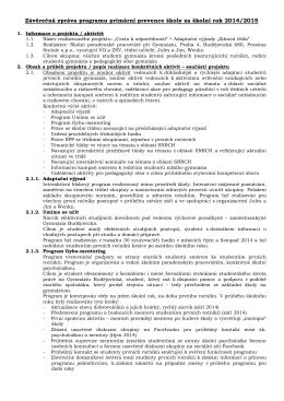 Stáhnout - Gymnázium Budějovická