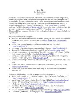 Stáhněte si CV jako pdf soubor
