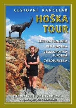 Kalendář zájezdů na rok 2016 - CK Hoška