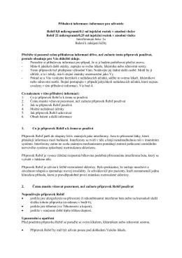 Příbalová informace: informace pro uživatele Rebif 8,8 mikrogramů