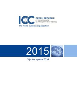 Výroční zpráva 2014 - ICC Česká republika
