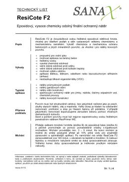 ResiCote F2 - dubinvest.cz