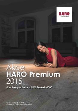 Akční nabídka HARO plovoucí prkna + parkety.