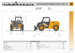 jcb teleskopický manipulator js 527 - 55 i