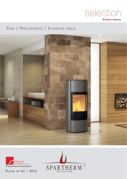 Spartherm selection CZ 07 2015