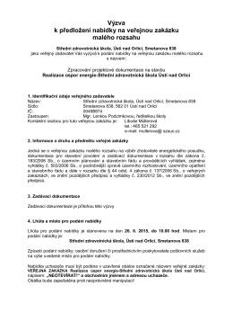 zde - Střední zdravotnická škola, Ústí nad Orlicí