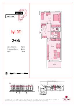 2+kk byt 251 - Ponavia rezidence
