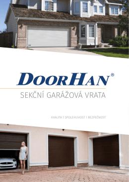 Katalog – sekční garážová vrata