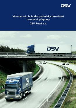 Všeobecné obchodní podmínky pro oblast tuzemské přepravy DSV
