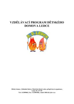 Vzdělávací program DD
