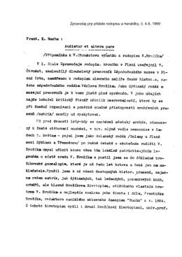 Zpravodaj prp přátele rodopisu a heraldiky, č. 4