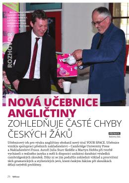 Nová učebnice angličtiny zohledňuje časté chyby českých žáků