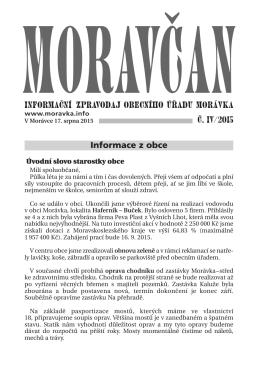Moravčan 04/2011
