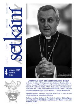 Setkání 04/2015 - Biskupství českobudějovické