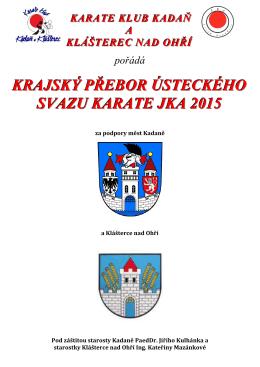 propozice  - karateklubkadan.cz