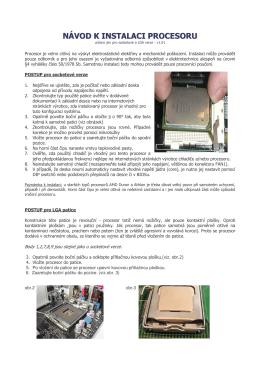 Procesory - GIGACOMPUTER.cz