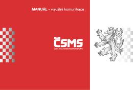 MANUÁL - vizuální komunikace