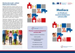 Mediace - Úřad pro mezinárodněprávní ochranu dětí