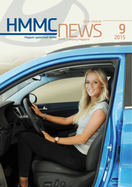 Firemní zpravodaj (ke stažení v pdf) číslo 85/Září2015