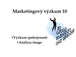 Marketingový výzkum 10