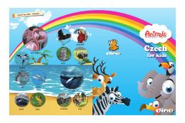 Czech for kids - Animals plameňák papoušek sova
