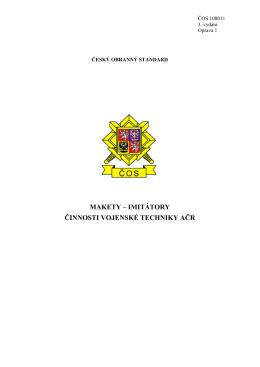 108011 - Ministerstvo obrany