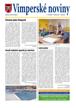 Vimperské noviny 7–8/2015