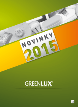 NOVINKY - GREENLUX sro