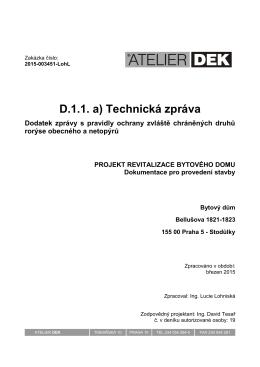 DPS_A4_D.1.1. Technicka zprava_ Bell_dodatek k opatření pro