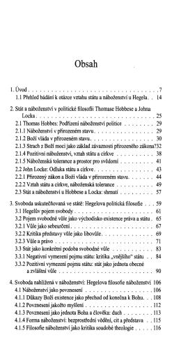 Stát a náboženství v Hegelově filosofii
