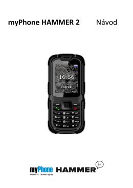 myPhone HAMMER 2 Návod