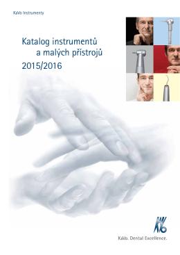 Katalog instrumentů a malých přístrojů 2015/2016