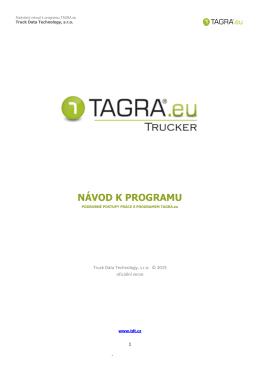 TAGRA.eu TRUCKER (pro řidiče jednotlivce)