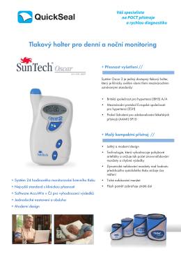 Tlakový holter pro denní a noční monitoring