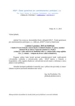 zde - KSLP - Česká společnost pro zaměstnaneckou participaci, zs