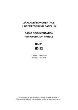 Základní dokumentace