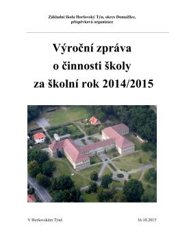 Základní škola Horšovský Týn, okres Domažlice