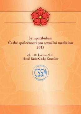 Sympatibulum České společnosti pro sexuální medicínu 2015