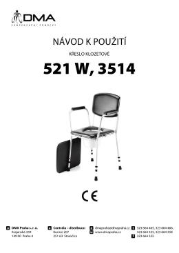 KresloToaletni 521W,3514