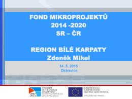 Fond mikroprojektů 2014